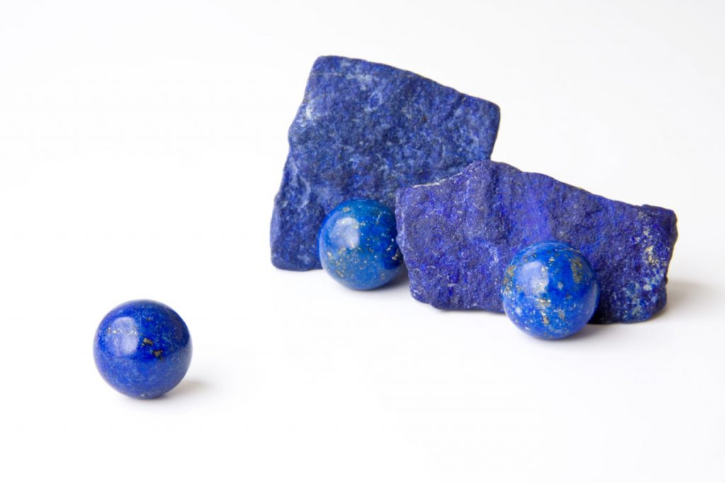 Lapis lazuli stone