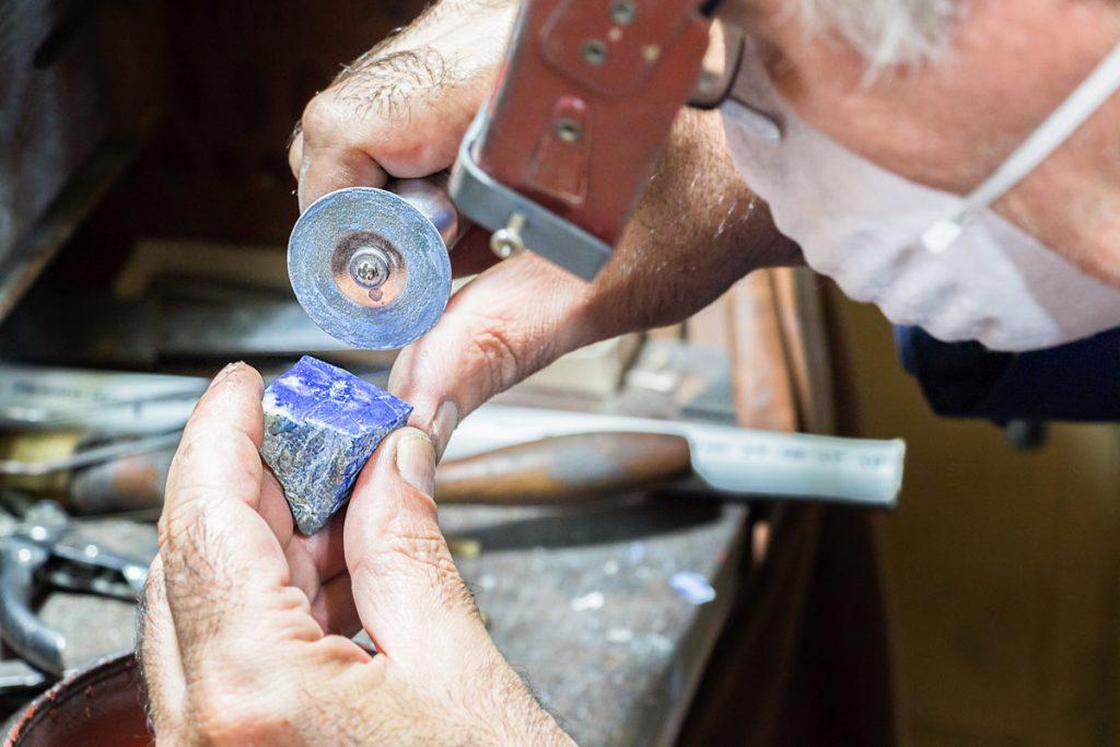 Lapis Lazuli silver ring making
